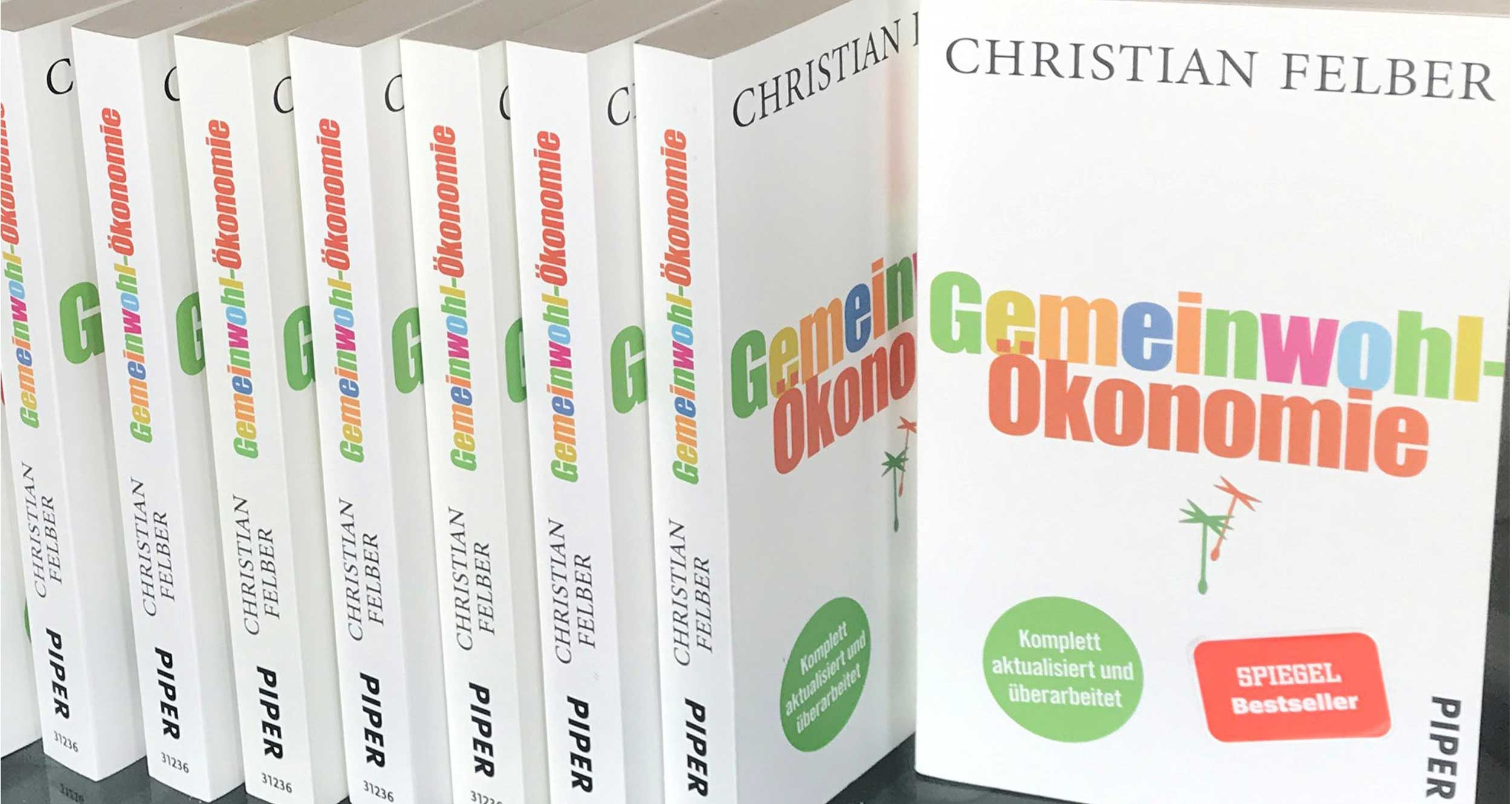 Buch-Cover Gemeinwohlökonomie (c) GWÖ-Hamburg
