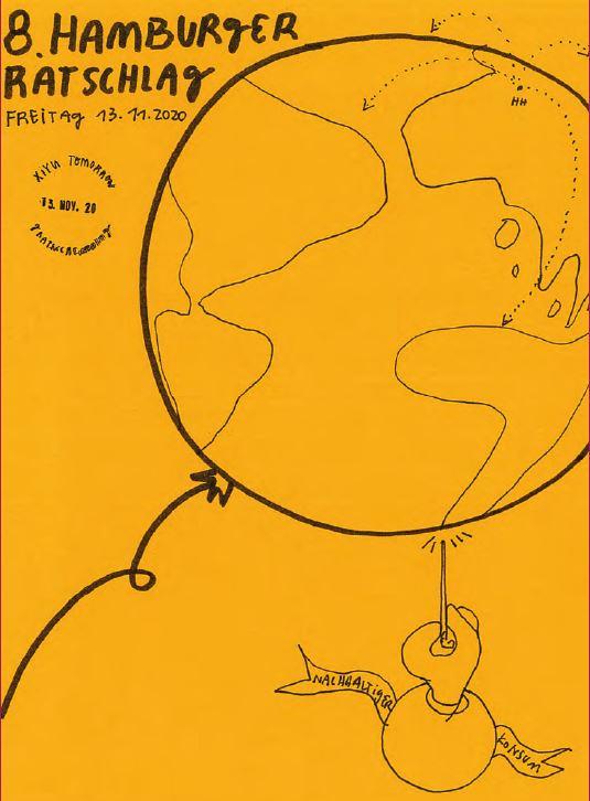 Illustration Doku 8. Hamburger Ratschlag (c) Xiyu Tomorrow