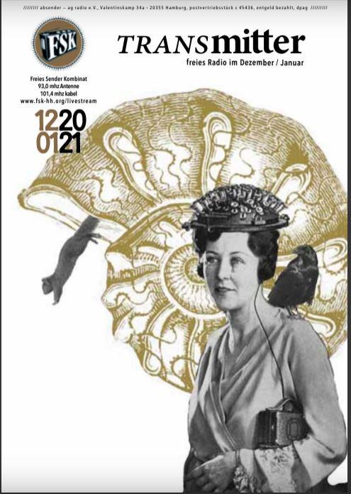 Transmitter Magazin Cover Ausgabe Dezember/Januar 2020/21
