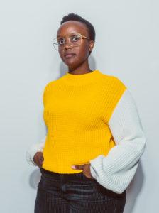 Portrait Vivian Mule - Künstlerin W3_Flyercover Januar-Februar 2021
